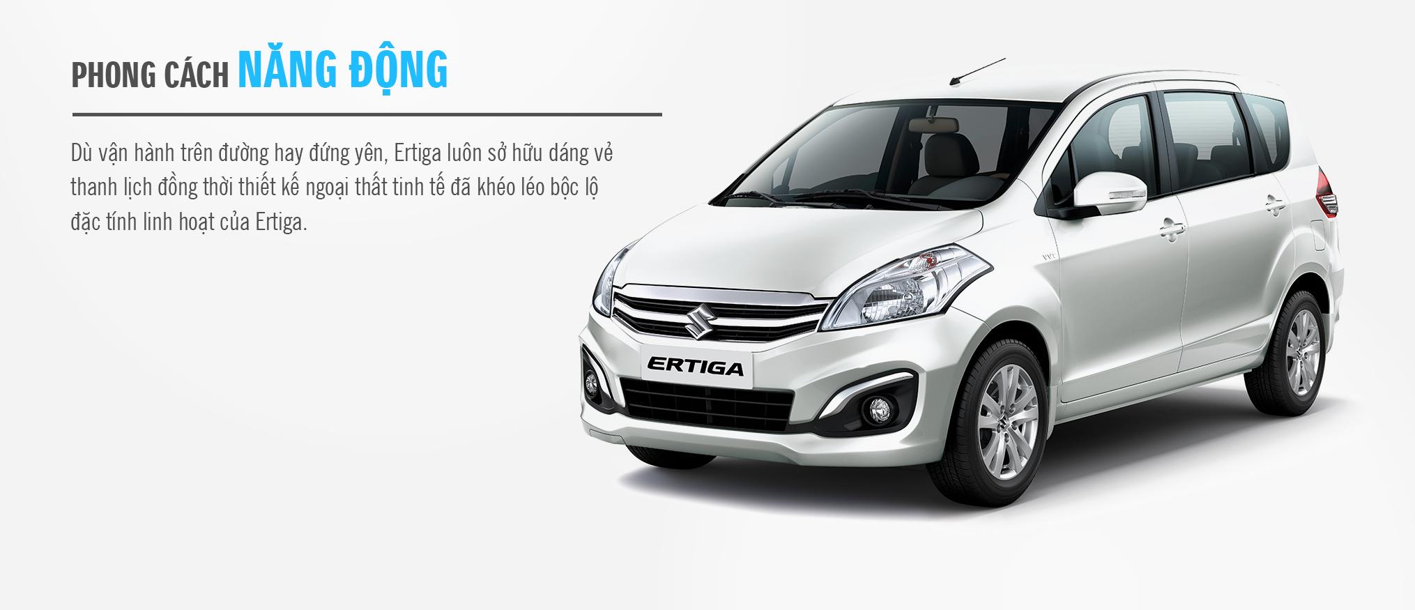 Suzuki Ertiga 07 chỗ 2016  - Nhập khẩu từ Indonesia